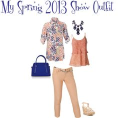 """""""My CAbi Spring 2013 Show Outfit"""" by fashionfuzion on Polyvore"""