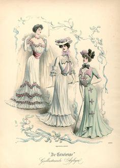 [De Gracieuse] Bal- en wandelkostumes (March 1901)