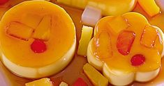 Fiesta flan is a different twist on your favorite leche flan. Make things exciting with fruits! You will surely enjoy this refreshing dessert! Filipino Dishes, Filipino Desserts, Asian Desserts, Filipino Recipes, Filipino Food, Ham Cheese Rolls, Cheese Roll Recipe, Panlasang Pinoy Recipe, Pinoy Dessert