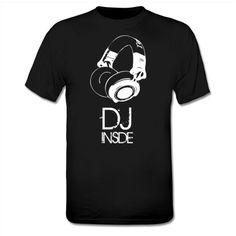 DJ Inside T-Shirt