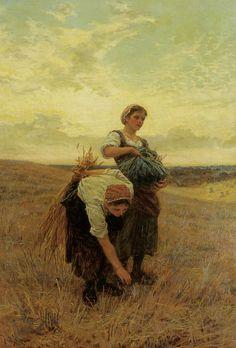 "windypoplarsroom:    Frederick Morgan  ""The Gleaners"""