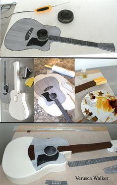 Guitar step-by-step by Verusca.deviantart.com