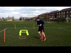 Great drill for working on coming away from defenders into pockets of space to receive a pass. Loads of different variations you can do in the middle of the . Best Football Skills, Football Drills, Soccer Coaching, Soccer Training, Sprint Workout, Soccer Workouts, Girls Soccer, Goalkeeper, Defenders