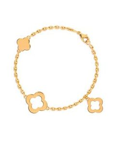 Van Cleef & Arpels Byzantine Alhambra Bracelet at London Jewelers!