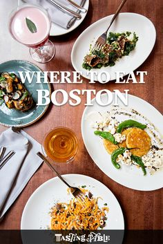 Where to eat, drink, and stay in Boston according to local chef Chris Himmel. This list is very good from what I've experienced and heard