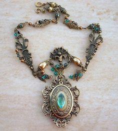 Emerald dragon locket