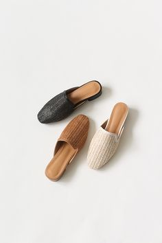 Brown Leather Loafers, Leather Flats, Sock Shoes, Cute Shoes, Sandals Outfit, Shoes Sandals, Shoe Shoe, Mule Sandals, Brand Design