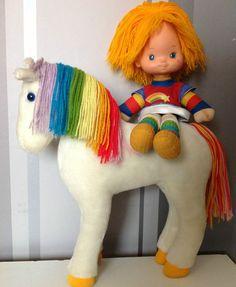 *Vintage Rainbow Brite Starlight 12.5 & Rainbow Bright Doll Hallmark Cards 83* | eBay