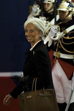 Christine Lagarde: Inspirational Women on International Women's Day