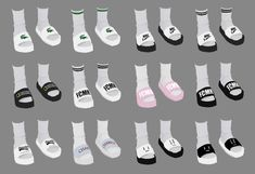 """bedisfull: """" BED_M socks & slippers """" mesh&texture by bedisfull If you want edit my cc, plz tell Sims 4 Male Clothes, Sims 4 Toddler Clothes, Sims 4 Cc Kids Clothing, Korean Clothes, Men Clothes, Toddler Toys, Sims 4 Mods, Sims 4 Game Mods, Vêtement Harris Tweed"""
