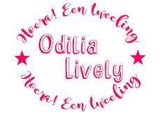 Geboortesticker tweeling type Odilia en Livia