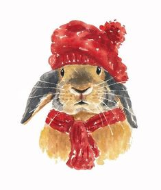 """Winter Rabbit"" by D"