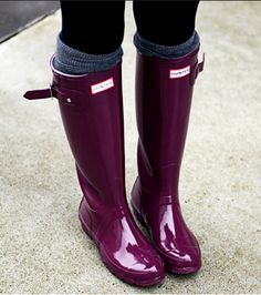 Every girl should have a pair of rainboots like these!