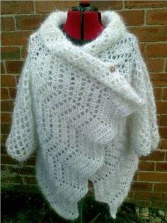 Heidi's Crochet Scrapbook / Haw Frost Shawl Cardigan
