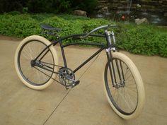 1939 Colson with Monark Springer Bike Names, Rat Rod Build, Vintage Trouble, Speed King, Cruiser Bicycle, Bicycle Accessories, Kustom, Custom Bikes, Cool Bikes