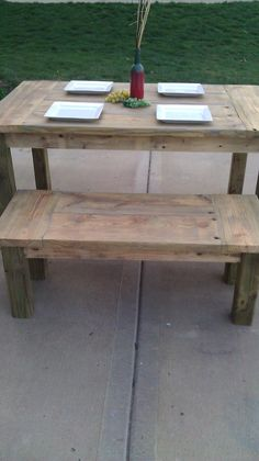 Handmade Dining Sets made from Reclaimed Wood