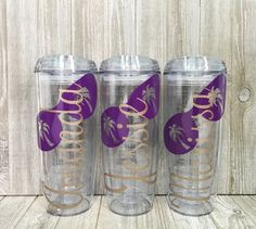 Personalized Beach Tumblers Bridal Party by SmithAveDesigns