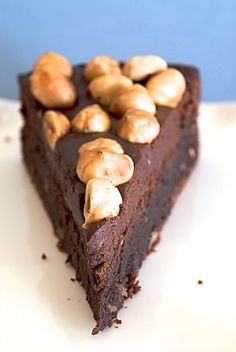 Chocolate Hazelnut Cake is wonderfully delicious and beautiful cake that's surprisingly simple to make! - Bake or Break