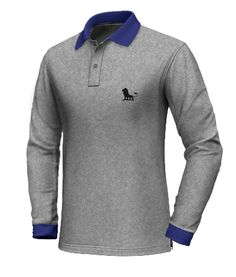 Gifts for men with beards [for pros and beginners] Custom Polo Shirts, Polo Tee Shirts, Grey Polo Shirt, Long Sleeve Polo, Long Sleeve Shirts, Men's Wardrobe, Bearded Men, Men's Polo, Shirt Designs
