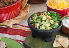 Take your #WorldCupParty south of the border with this chunky avocado salsa. A unique take on guacamole.
