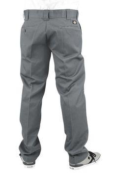 Pantaloni asian color carbone 873 Slim Straight Work Pants della #Dickies perfetti sia per il lavoro che per il tempo libero. Muniti di 4 tasche, comode per portare chiavi e portafoglio