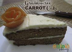 Grain-Free Carrot Cake  #EdibleHarmony