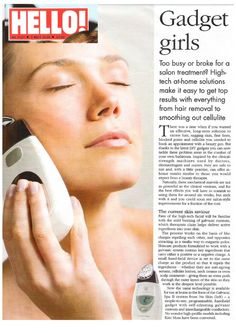 The best gift ever - For all you Gadget Gals who want to look younger in just 5 minutes!  cfo.nsproducts.com
