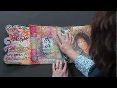 Original pinner sez: 1 of the most beautiful art Journals I have ever seen -I love it! Valerie Sjodin's Gratitude Journal