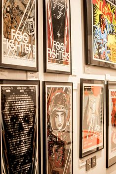 Sonic Art Ways – Official Foo Fighters Art Show – French Paper Gallery Paris