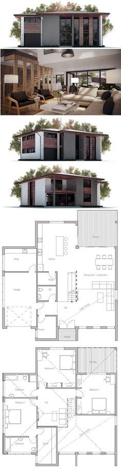 Scandinavian design, Swedish design, Litet Hus, Hus Plan