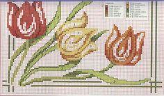 Cross Stitch, Flowers, Fair Isles, Bouquet, Cat Cross Stitches, Towel Bars, Cross Stitch Art, Crocheting Patterns, Cross Stitch Embroidery