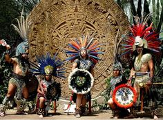 Aztec Dancers from Mexico City! Mexico People, Mexican Costume, Music Museum, Aztec Culture, Aztec Warrior, Anthropologie, Aztec Art, Mesoamerican, Chicano Art