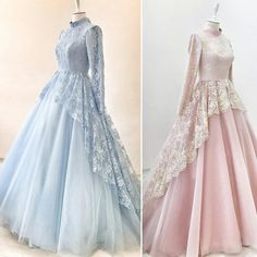 Modest Formal Occasion Dress with Long Sleeves – Hijab Fashion 2020 Muslimah Wedding Dress, Muslim Wedding Dresses, Muslim Dress, Bridesmaid Dresses, Prom Dresses, Wedding Bridesmaids, Dress Wedding, Wedding Abaya, Muslim Hijab