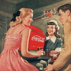 1950s Coca Cola