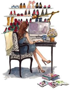 Blogging in heels