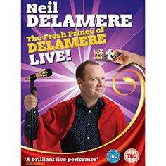 Win a copy of Neil Delamere's 'The Fresh Prince of Delamere Live on DVD - http://www.competitions.ie/competition/win-a-copy-of-neil-delameres-the-fresh-prince-of-delamere-live-on-dvd/