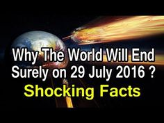 Today will be the 'end of the world,' group says - http://wqad.com/2016/07/29/today-will-be-the-end-of-the-world-group-says/