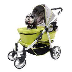 Ibiyaya Retro Buggy Pet Stroller by Innopet , Large Dog Stroller UK – PetsOwnUs Large Dogs, Small Dogs, Dog Stroller, Pet Travel, Pet Mat, Pet Treats, Medium Dogs, Pet Supplies, Your Pet