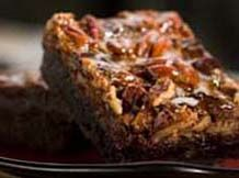 Southern Pecan Praline Brownies  This week's featured recipe comes from Faydell Lich of McHenry, MS #dominopin2win