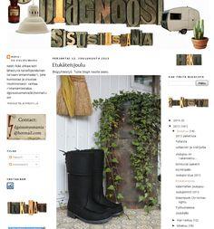 Töysän kenkätehtaan Arctips-saappaat Diagnoosi sisustusmania -blogissa joulukuussa 2013. Koko blogaus täällä: http://diagnoosisisustusmania.blogspot.fr/2013_12_01_archive.html#uds-search-results