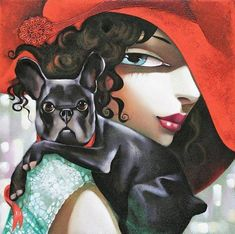 Обаяние женского образа в творчестве греческой художницы Ira Tsantekidou - Ярмарка Мастеров - ручная работа, handmade
