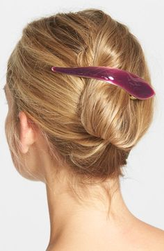 Ficcare 'Maximus Silky' Hair Clip - metal & enamel in 16 colors to choose from! Nordstrom