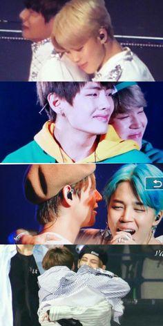 Always jimin at Tae 's side when Tae cries.my heartu V Taehyung, Namjoon, Vmin, Bts Boys, Bts Bangtan Boy, Foto Bts, Boy Band, Bts Kim, Les Bts