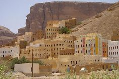 Picture of Wadi Dawan landscape from above - Yemen - Asia