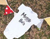 Muggle Born Onesie. $12.00, via Etsy.