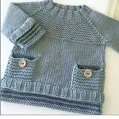 Baby Knitting Patterns Funny … v … Baby Knitting Patterns, Crochet Baby Dress Pattern, Baby Dress Patterns, Knitting For Kids, Knit Crochet, Crochet Patterns, Free Knitting, Knitted Baby Cardigan, Knit Baby Sweaters