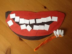 A craft to prep for dentist visit!