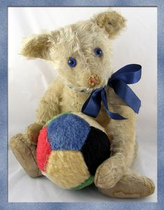 Steiff Petsy bear c1928 with FF button in ear