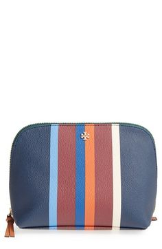 842aec8bdf Tory Burch  Kerrington  Cosmetics Case available at  Nordstrom Cosmetic  Case
