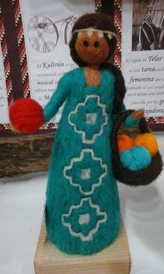 Nuno Felting, Needle Felting, Native American Dolls, American Indians, Mobiles, Indian Dolls, Felt Fairy, Felting Tutorials, Doll Eyes